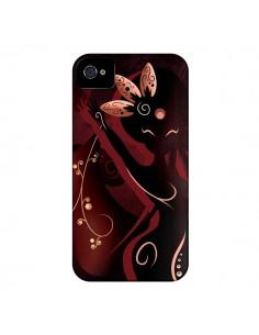 Coque Sarah Oriantal Woman Femme pour iPhone 4 et 4S - LouJah