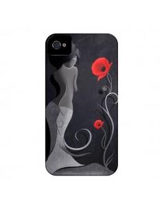 Coque Femme Asiatique Sensual Victoria pour iPhone 4 et 4S - LouJah