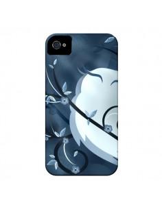 Coque Chouette Hibou Asiatique pour iPhone 4 et 4S - LouJah