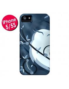 Coque Chouette Hibou Asiatique pour iPhone 5 et 5S - LouJah
