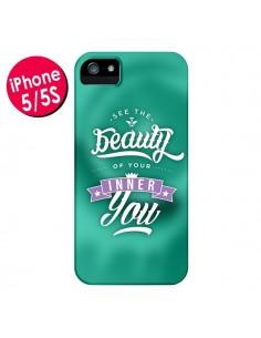 Coque Beauty Vert pour iPhone 5 et 5S - Javier Martinez