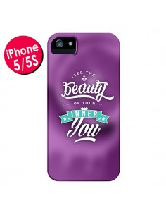 Coque Beauty Violet pour iPhone 5 et 5S - Javier Martinez