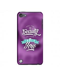 Coque Beauty Violet pour iPod Touch 5 - Javier Martinez