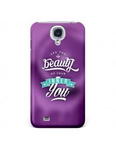 Coque Beauty Violet pour Samsung Galaxy S4 - Javier Martinez