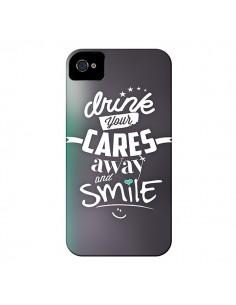 Coque Drink Gris pour iPhone 4 et 4S - Javier Martinez