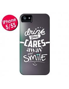 Coque Drink Gris pour iPhone 5 et 5S - Javier Martinez