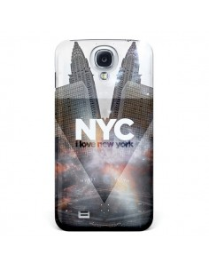 Coque I Love New York City Gris pour Samsung Galaxy S4 - Javier Martinez