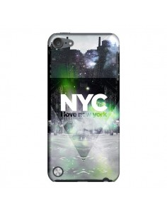 Coque I Love New York City Vert pour iPod Touch 5 - Javier Martinez
