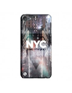 Coque I Love New York City Violet pour iPod Touch 5 - Javier Martinez