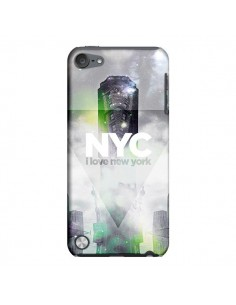 Coque I Love New York City Gris Vert pour iPod Touch 5 - Javier Martinez