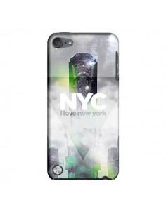 Coque I Love New York City Gris Vert pour iPod Touch 5 - Javier Martinez
