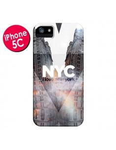 Coque I Love New York City Orange pour iPhone 5C - Javier Martinez