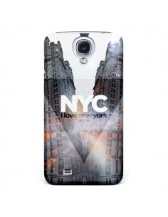 Coque I Love New York City Orange pour Samsung Galaxy S4 - Javier Martinez