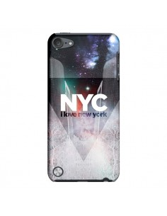 Coque I Love New York City Bleu pour iPod Touch 5 - Javier Martinez