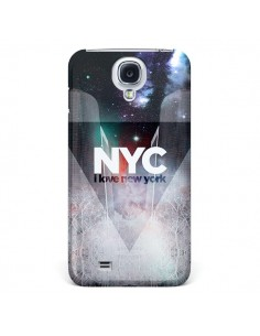 Coque I Love New York City Bleu pour Samsung Galaxy S4 - Javier Martinez