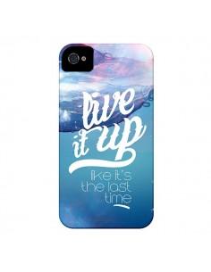 Coque Last Time Bleu pour iPhone 4 et 4S - Javier Martinez
