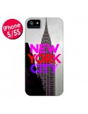 Coque New York City Rose Rouge pour iPhone 5 et 5S - Javier Martinez