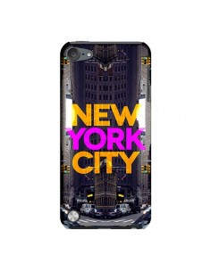 Coque New York City Orange Violet pour iPod Touch 5 - Javier Martinez