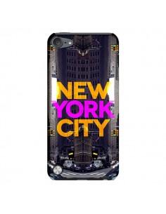 Coque New York City Orange Violet pour iPod Touch 5 - Javier Martinez