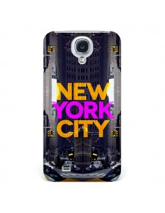 Coque New York City Orange Violet pour Samsung Galaxy S4 - Javier Martinez