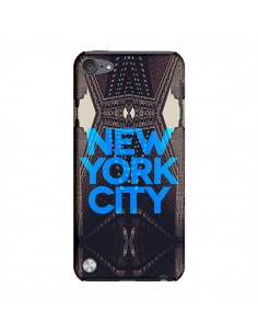Coque New York City Bleu pour iPod Touch 5 - Javier Martinez