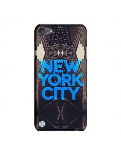 Coque New York City Bleu pour iPod Touch 5 - Javier Martinez