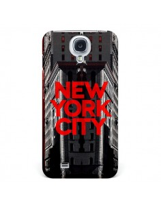 Coque New York City Rouge pour Samsung Galaxy S4 - Javier Martinez