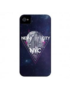 Coque New York City Triangle Rose pour iPhone 4 et 4S - Javier Martinez