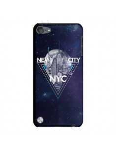 Coque New York City Triangle Bleu pour iPod Touch 5 - Javier Martinez