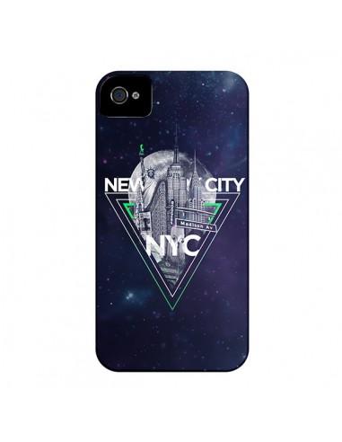 Coque New York City Triangle Vert pour iPhone 4 et 4S - Javier Martinez