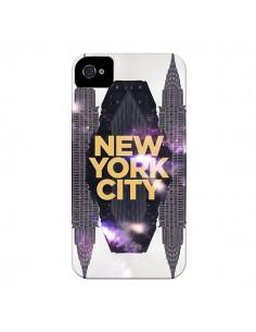 Coque New York City Orange pour iPhone 4 et 4S - Javier Martinez