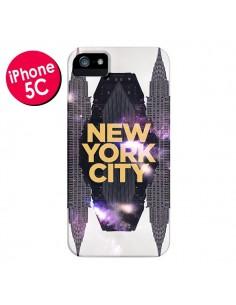 Coque New York City Orange pour iPhone 5C - Javier Martinez