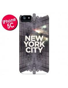 Coque New York City Gris pour iPhone 5C - Javier Martinez