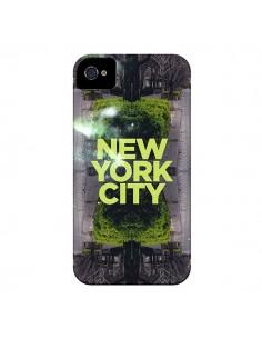 Coque New York City Vert pour iPhone 4 et 4S - Javier Martinez