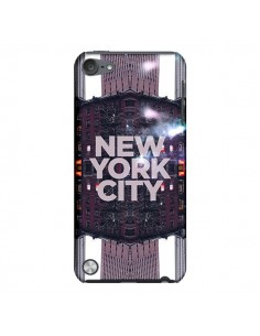 Coque New York City Violet pour iPod Touch 5 - Javier Martinez