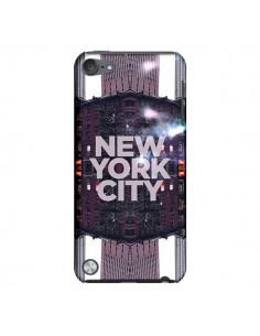 Coque New York City Violet pour iPod Touch 5 - Javier Martinez