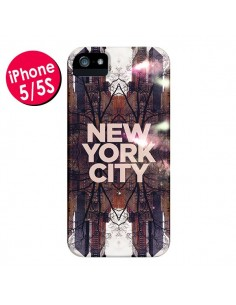Coque New York City Parc pour iPhone 5 et 5S - Javier Martinez