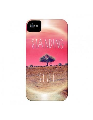 Coque Standing Still Paysage pour iPhone 4 et 4S - Javier Martinez