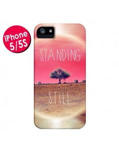 Coque Standing Still Paysage pour iPhone 5 et 5S - Javier Martinez