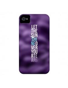 Coque Sunshine Violet pour iPhone 4 et 4S - Javier Martinez
