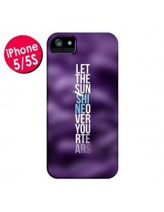 Coque Sunshine Violet pour iPhone 5 et 5S - Javier Martinez
