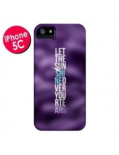 Coque Sunshine Violet pour iPhone 5C - Javier Martinez