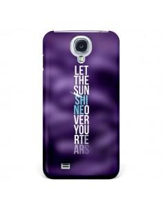Coque Sunshine Violet pour Samsung Galaxy S4 - Javier Martinez