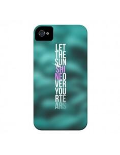 Coque Sunshine Vert pour iPhone 4 et 4S - Javier Martinez