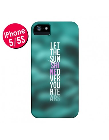 Coque Sunshine Vert pour iPhone 5 et 5S - Javier Martinez
