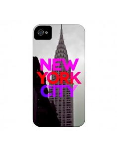 Coque New York City Rose Rouge pour iPhone 4 et 4S - Javier Martinez