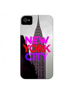 Coque New York City Rose Rouge pour iPhone 4 et 4S - Javier Martinez