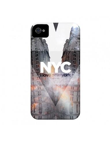 Coque I Love New York City Orange pour iPhone 4 et 4S - Javier Martinez