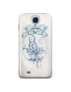 Coque Bird Oiseau Mignon Vintage pour Samsung Galaxy S4 - Lassana