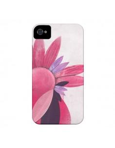 Coque Flowers Fleurs Roses pour iPhone 4 et 4S - Lassana